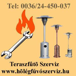 TERASZFŰTŐ SZERVIZ! TERASZSUGÁRZÓ JAVÍTÁS! www.hőlégfúvószerviz.hu